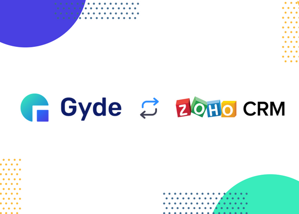Announcing Gyde for Zoho CRM